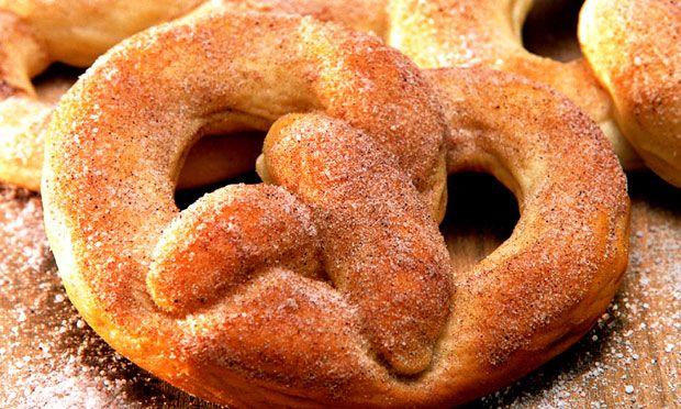 Receita de Pretzel - Biscoito e bolacha - Dificuldade: Fácil - Calorias: 165 por porção