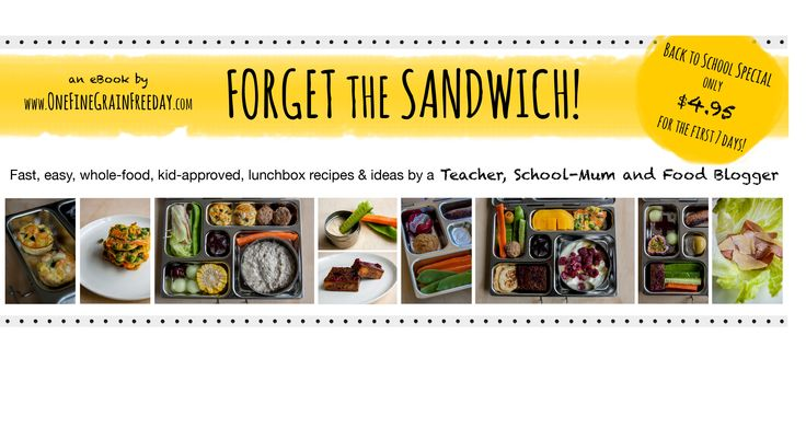 School Lunchbox eBook! Normally $8.95, it is $4.95 for the first 7 days.