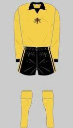 Watford F.C kit —1972/73.