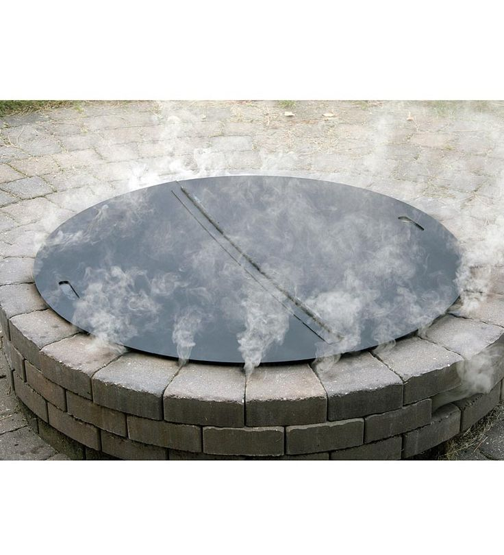 Heavy-Duty Stainless Steel Round Fire Pit Cover