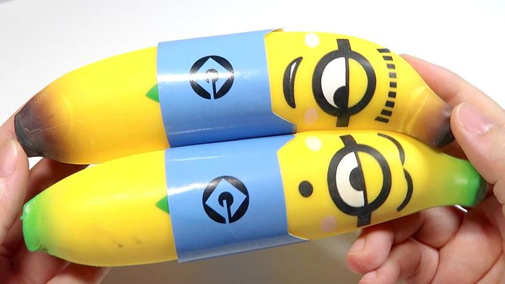 Minions Banana Stretchy Squishy Squeeze