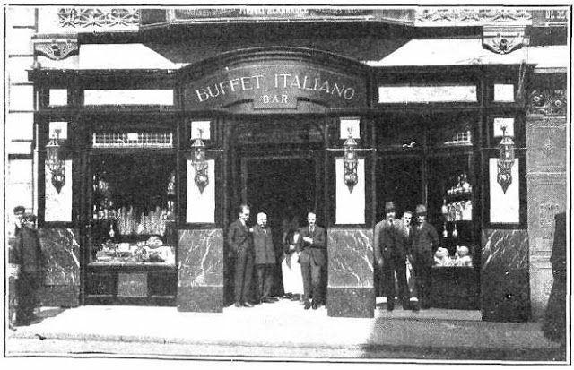 Antiguos cafés de Madrid y otras cosas de la Villa.: BUFFET ITALIANO, CARRERA DE SAN JERÓNIMO, 37.