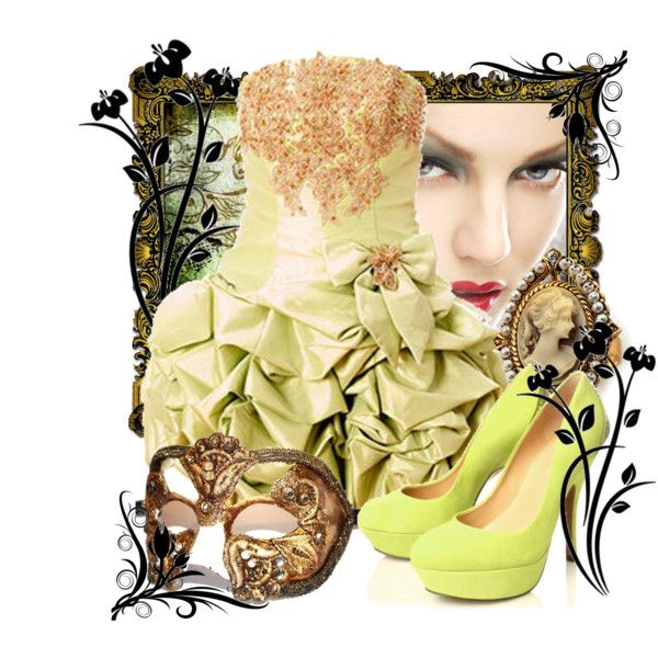 Green Masquerade, created by xlilithx