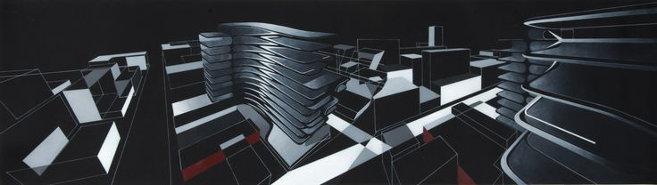 Gallery of The Creative Process of Zaha Hadid, As Revealed Through Her Paintings - 22