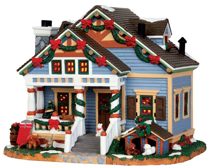 146 best Christmas Town images on Pinterest | Christmas villages ...