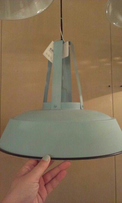Lamp bij woondock voor boven de eettafel