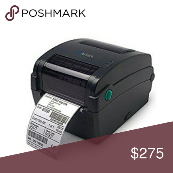 Thermal barcode label maker High quality 203 dpi Thermal barcode label maker. Stop wasting ink. It takes no ink, plug in to computer and print out labels, barcode labels, and postage. This airtrack is $325 and more in stores. Still have box and wrapping took out for picture. airtrack Other