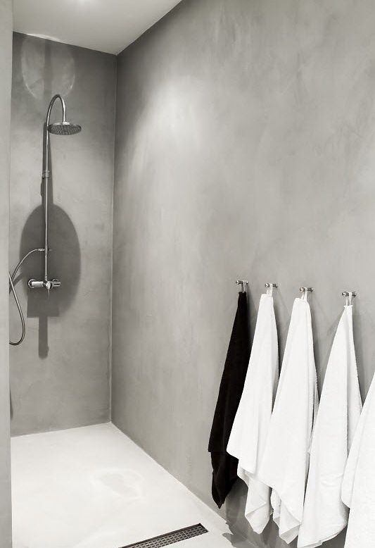 towel hooks as opposed to rails :) you clever dew!