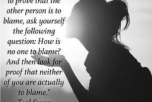 Blame Quote