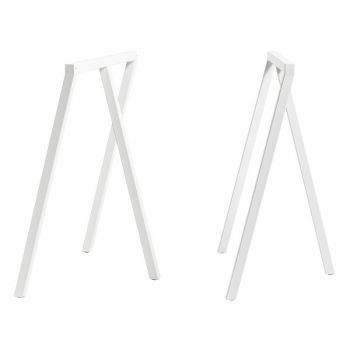 Loop Stand pukkijalat, 2 kpl, valkoinen