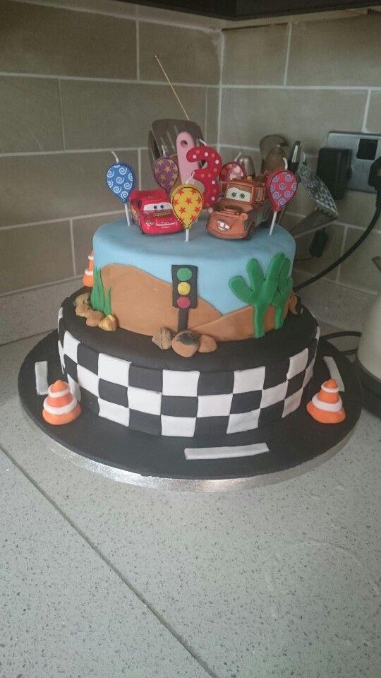 Xaves 3rd birthday cake