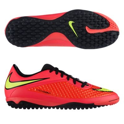 Nike Hypervenom Phelon Astroturf Trainers Red, Red