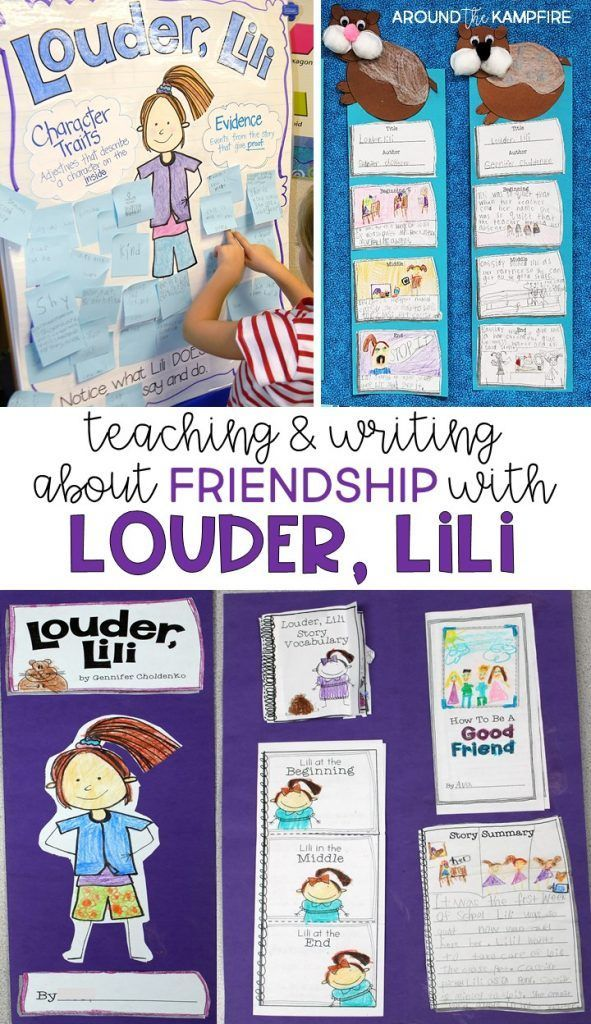Louder, Lili a gem of a back to school book perfect for teaching students about friendship, standing up for what is right, and finding your own voice. An effective story to help shy students, and to notice how what we say and do can change how others feel. Activities includes a character traits anchor chart, vocabulary, word work, retelling craft, printables, literacy centers, and culminating foldable with lots of activities for students to write about what they're reading.