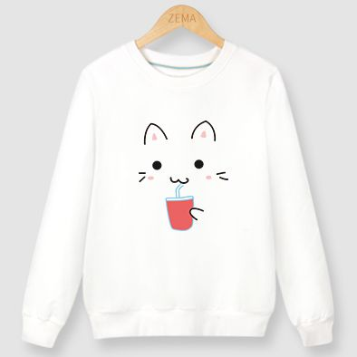 "Cute kawaii cat printing t-shirt SE9117  Coupon code ""cutekawaii"" for 10% off"
