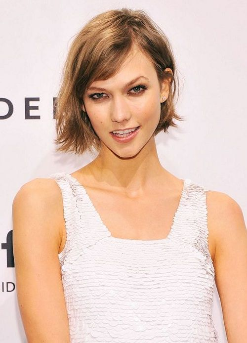 Karlie Kloss short hair