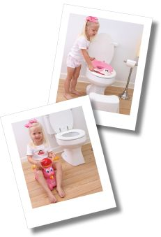 Tips on potty training girls with specific tips for 2 year olds, 3 year olds and 4 year olds.