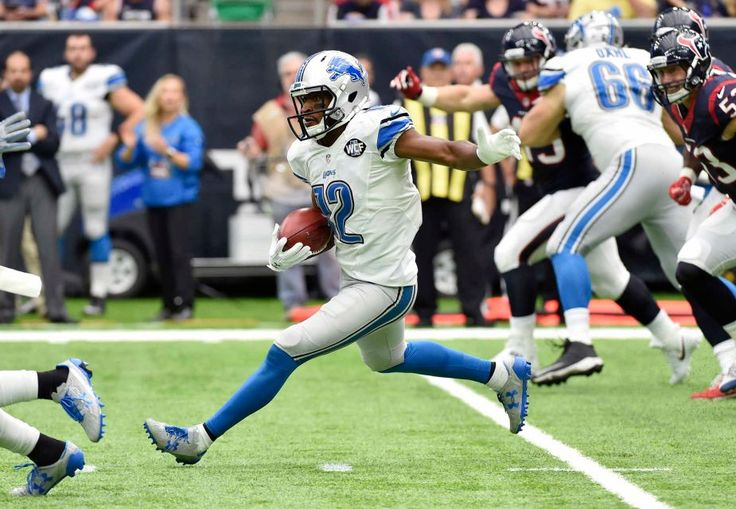 Lions vs. Texans:  October 30, 2016  -  20-13, Texans  -    Detroit Lions wide receiver Andre Roberts (12) advance the ball after making a catch against the Houston Texans during the first half of an NFL football game Sunday, Oct. 30, 2016, in Houston.
