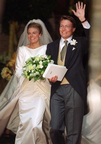 May 19, 2001...Laurentien Brinkhorst and her husband, Prince Constantijn of the Netherlands.