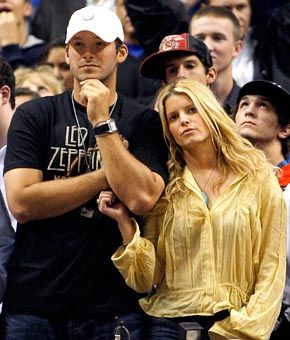 Who cares who Tony Romo loves, check out his t shirt!! I knew I liked him, just couldn't figure out y!!!