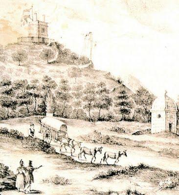 ESPAÑA ILUSTRADA: TELÉGRAFO ÓPTICO POR JUAN JOSÉ DE LERENA- En 1831 inauguró la primera línea de telégrafos desde el Real Sitio de Aranjuez, en el Monte Parnaso, hasta Madrid, en la Torre de los Lujanes.