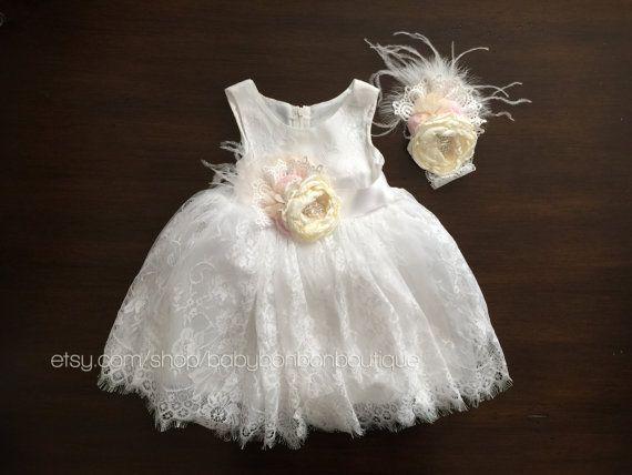 1000  ideas about Baptism Dress Baby on Pinterest | Baptism dress ...