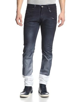 72% OFF Pierre Balmain Men's Spray-Coated Skinny Jeans (Multi)