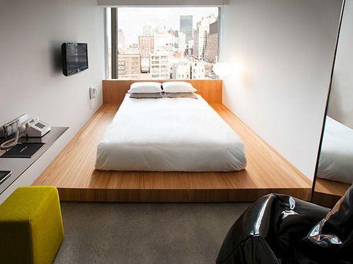 Hotel Americano, New York, Gjesterom