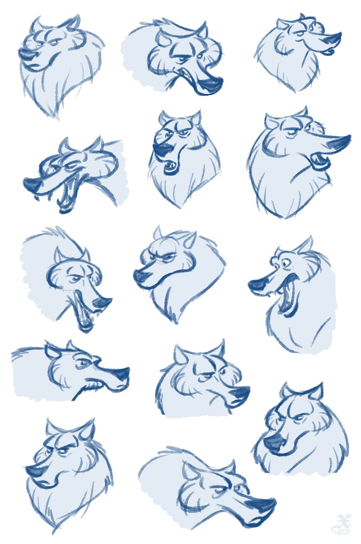 || CHARACTER DESIGN REFERENCES | Find more at https://www.facebook.com/CharacterDesignReferences if you're looking for: #line #art #character #design #model #sheet #illustration #best #concept #animation #drawing #archive #library #reference #anatomy #traditional #draw #development #artist #how #to #tutorial #conceptart #modelsheet #animal #animals #dog #wolf #fox #dogs