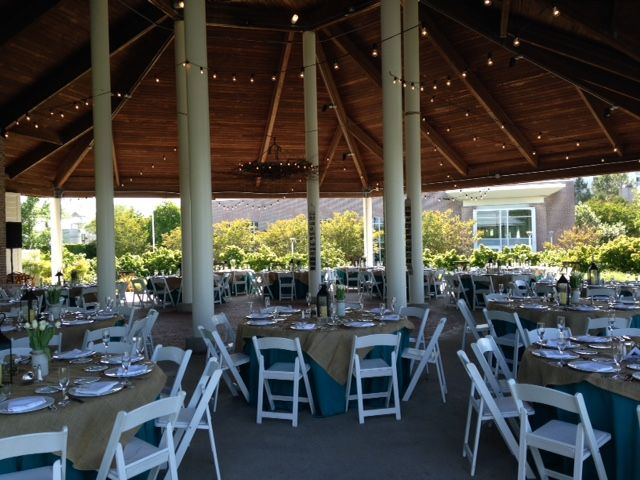Wedding Reception At The Regatta Pavilion
