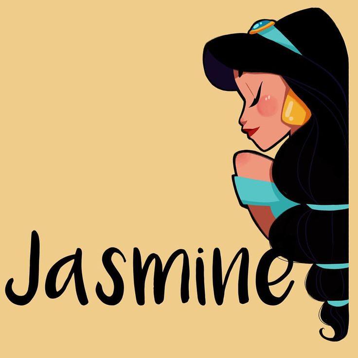 Jasmine & Aladdin ⚜ illustration