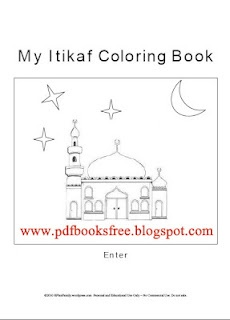 My Itikaf Coloring Book