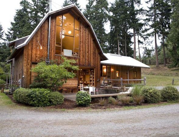 Best BARN LIVING Images On Pinterest Barn Living Barn - Small barns turned into homes