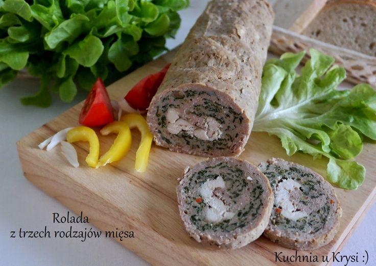Kuchnia u Krysi  : Rolada z trzech rodzajów mięsa