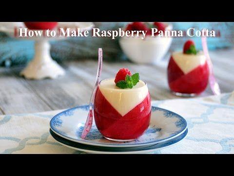 uTry.it: How to Make Raspberry Panna Cotta