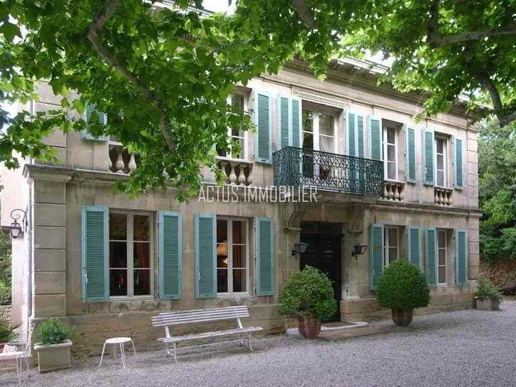 8 best images about vente et achat maisons de charme for Achat maison salon de provence