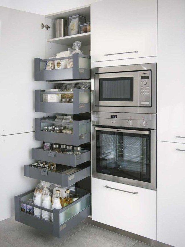 42 Attractive Small Kitchen Ideas For Big Taste | Kitchen ...
