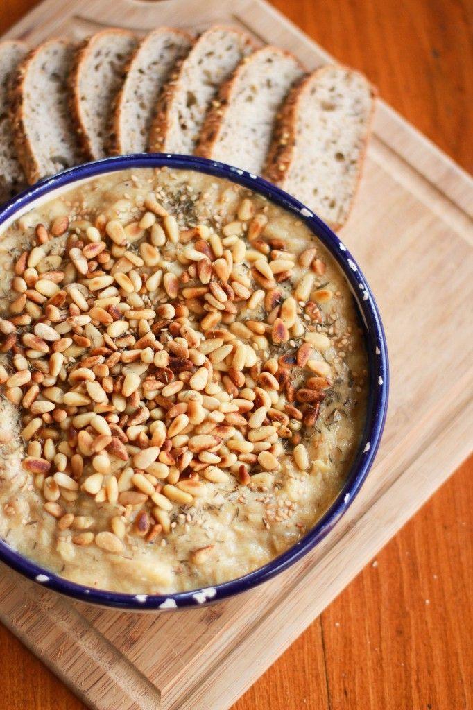baba ganoush de courgettes (ottolenghi, plenty more) -- zucchini baba ganoush