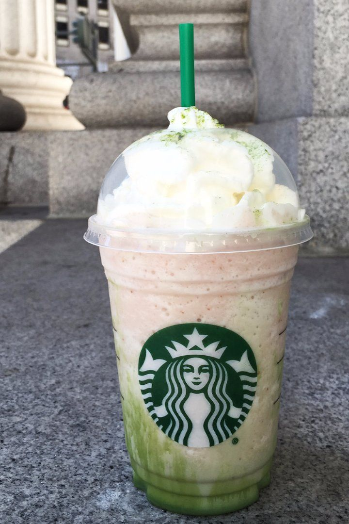 Starbucks Cherry Blossom Frappuccino Review