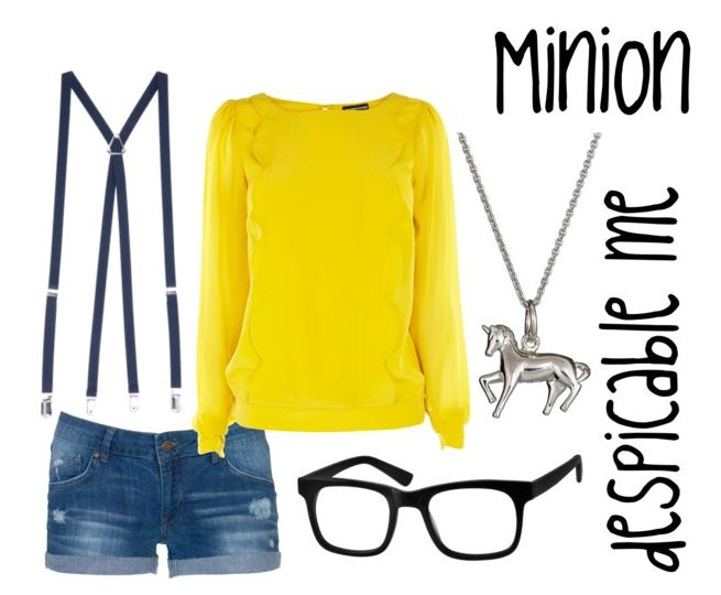 Minion outfit from Despicable Me. i am doing this when despicable me 2 comes out!