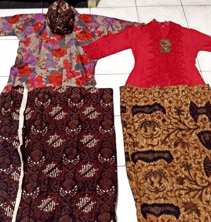 Javanesse traditional outwear (Indonesia) - Surjan & Kebaya Kutubaru