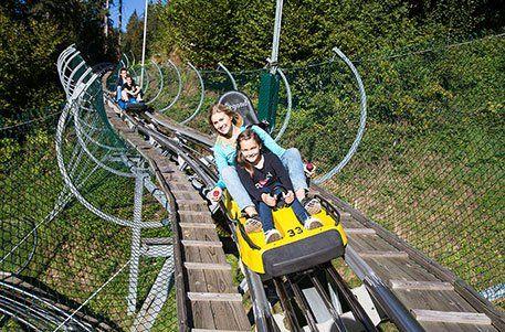 Arena Coaster - Sommerrodelbahn in der Zillertalarena bei Zell am Ziller