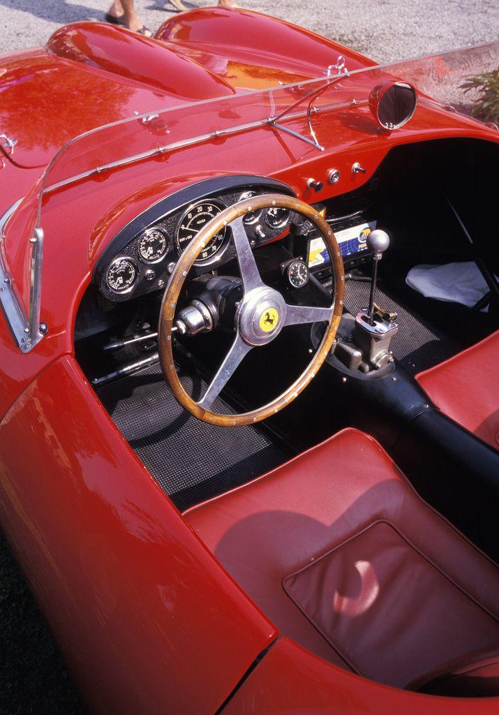 1956 Ferrari 250 Testa Rossa http://www.windblox.com/ #windscreen #ferrari #testorossa