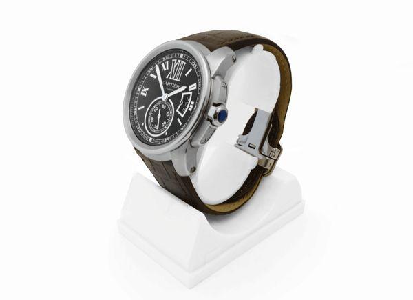 Cartier Calibre 3299 - A Gents Stainless Steel Cartier Calibre 3299 Wristwatch.