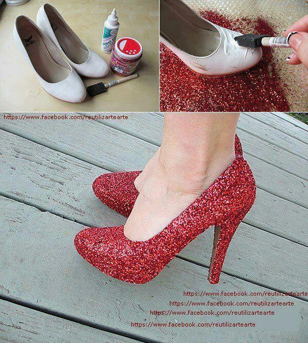 Transformação de sapato                                                                                                                                                                                 Mais