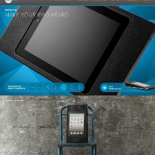 The new iPad dock.. Übercool.