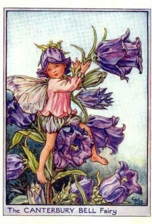 Garden Fairies:  The Canterbury Bell Fairy by Cicely Mary Barker