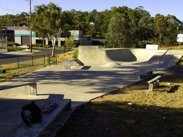 Eltham Skatepark, Alistair Knox Park West, Corner of Bridge and Susan Streets, Eltham
