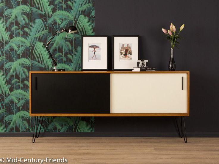 Vintage Kommoden - 50er Sideboard, Georg Satink, WK Möbel, Vintage - ein…