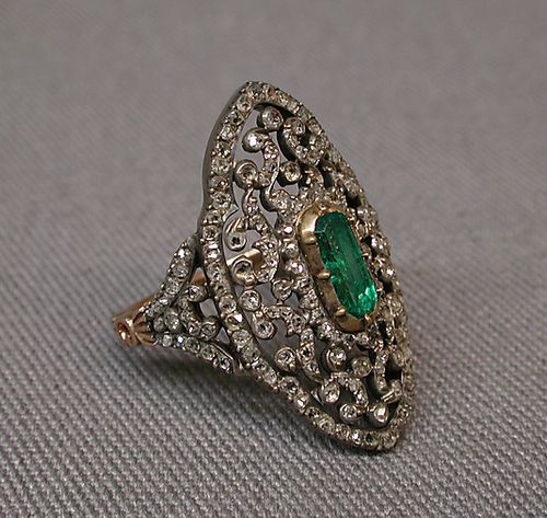I am beyond obsessed with antique and vintage jewelry! Ring, 1838-1847, FrenchMet Museum