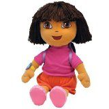 TY Dora the Explorer Beanie Doll (Ty Beanie Buddy) TY BEANIE BUDDY DORA THE EXPLORER EXTRA LARGE SIZE HUGE 18 TALL 46CM HIGH (Barcode EAN = 0008421900909). http://www.comparestoreprices.co.uk/dolls-clothes-and-accessories/ty-dora-the-explorer-beanie-doll-ty-beanie-buddy-.asp